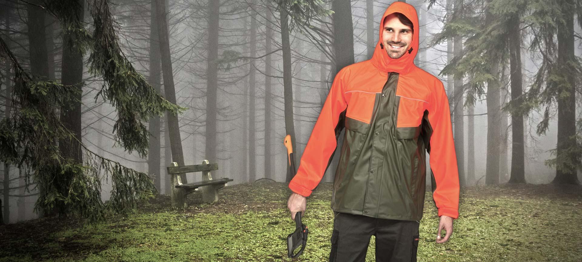 Regenschutzkleidung